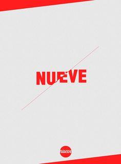 nueve, diseño grafico