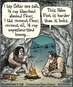 Bizarro: I laughed was harder than I should have. One of the many reasons I stick with just  keto.