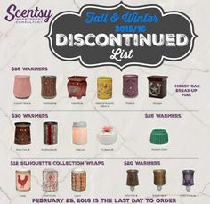 Place your order with me today!!! Kolivas505@gmail.com or view my website at kathysheavenlyscents.scentsy.us