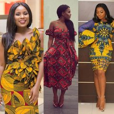 The Latest Must Have Breathtaking and Fabulous Ankara Styles - Wedding Digest Naija Latest Ankara Short Gown, Ankara Short Gown Styles, Short Gowns, Ankara Gowns, Ankara Dress, Ankara Fabric, Ankara Blouse, African Print Fashion, African Fashion Dresses