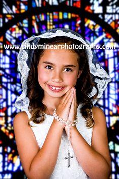 First Holy Communion Portrait