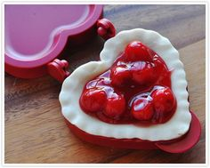 Heart-Shaped Mini Pies, courtesy of guest blogger Cat Davis, Food Family Finds.