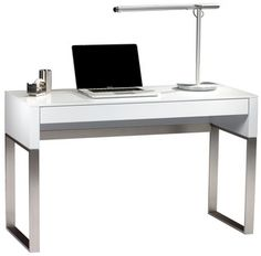 A great solution anywhere that space is limited, Cascadia is terrific for a home office. The collection includes a Desk, a Mobile File Cabinet and a Console/Lap