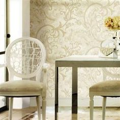 Modele tapet decorativ superlavabil Angelica Entryway Tables, Furniture, Home Decor, Cots, Decoration Home, Room Decor, Home Furnishings, Arredamento, Entry Tables