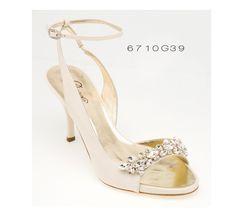 Linha de sapatos de noiva modernos e chiques