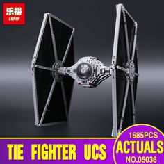 81.99$  Buy here - http://alihwu.shopchina.info/go.php?t=32721310492 - NEW  Lepin 05036 Star War Series Tie Fighter Building Educational Blocks Bricks Toys 1685pcs Compatible with 75095  #SHOPPING