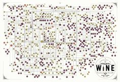 "Pop Chart Lab has created ""The Genealogy of Wine,"" a beautifully informative art print that traces the origins of 640 different wines. A genealogical investigation into the connections between ever..."