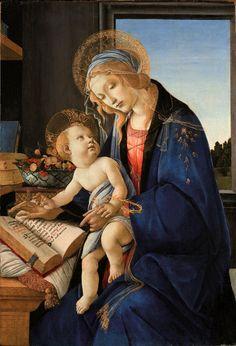 """""""Madonna col Bambino"""" by Sandro Botticelli"""