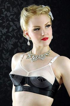 What Katie Did Marlene Circle Stitch Bullet Bra