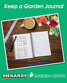 Now is a perfect time to start a garden journal. http://www.menards.com/main/c-19374.htm?utm_source=pinterest&utm_medium=social&utm_campaign=gardencenter&utm_content=garden-journal&cm_mmc=pinterest-_-social-_-gardencenter-_-garden-journal