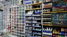 Zona Sprays, Markers y Aerografía. Tienda Gandia / Valencia Avda. Rep. Argentina, nº37