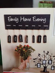 1000 images about noche de hogar on pinterest family for Idea door family home evening
