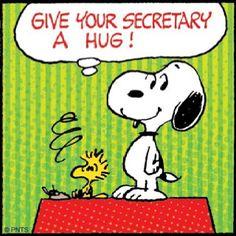 Happy Secretaries' Week ... To Shang
