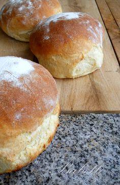 krumplis kenyerek Bread Recipes, Cooking Recipes, Garlic Bread, Bakery, Goodies, Yummy Food, Sweets, Pizza