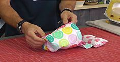 Talk About A Game Changer…This Weighted Pin Cushion And Scrap Bag Is So Handy!