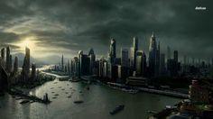 HQ RES city picture (Thompson Longman 1366x768)