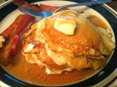 Twirl and Taste: The Best Pancakes - why not serve breakfast for supper - oh yeah, now you're talking!