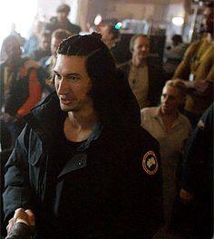 Adam Driver as Kylo Ren