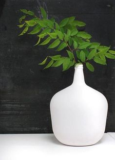 HK-living Vase white... ♥