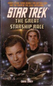 """""""The Great Starship Race Star Trek 53"""" av Diane Carey"""