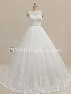 Modest Princess Wedding Dress BG146