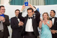 Winning the Speaker Agency Award at the Scherer Academy Speaker Slam in the Waldorf Astoria, New York.