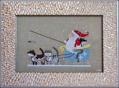 Мурлыкающие крестики: В кошачьей упряжке)))