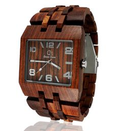 Wood Watch Handmade from Rosewood KOBUK by WoodmanWatches on Etsy