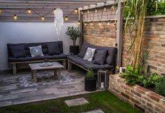 Outdoor Sectional, Sectional Sofa, Outdoor Furniture, Outdoor Decor, Patio, Instagram, Home Decor, Modular Couch, Decoration Home