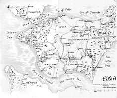 Eosia from the Elenium series by David Eddings
