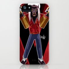 Thriller Time iPhone & iPod Case by Vee Ladwa - $35.00
