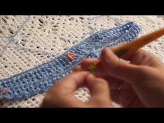 Красивый наборный ряд крючком (Beautiful stacked row hook) - YouTube