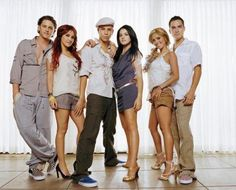 RBD love this band Christopher Uckermann, Dulce Maria, Christian Chávez, Maite Perroni, Anahi, and Alfonso Herrera and I miss their show to Rebelde