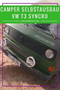 VW T3 Syncro Selbstausbau zum Camper. Bulli mit 4x4 als Offroad Wohnmobil