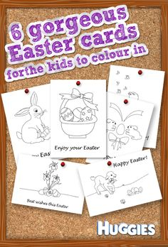 Print an Easter card and give it to the kids to colour in.