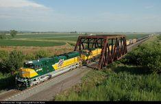 Location Map, Photo Location, Union Pacific Railroad, Steam Locomotive, Santa Fe, Iowa, Missouri, Trains, Diesel