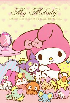 My melody with your friends in DOLLS!!!!