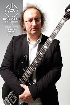 Exhibitor at The Holy Grail Guitar Show 2014: Roger Daguet, Daguet Guitars, France http://www.daguetguitars.com https://www.facebook.com/DAGUET.GUITARS http://holygrailguitarshow.com