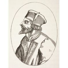 Jan Hus C1369 To 1415 Aka John Huss Czech Priest Philosopher And Reformer From Military And Religious Life In The Middle Ages By Paul Lacroix Published London Circa 1880 Canvas Art - Ken Welsh Design