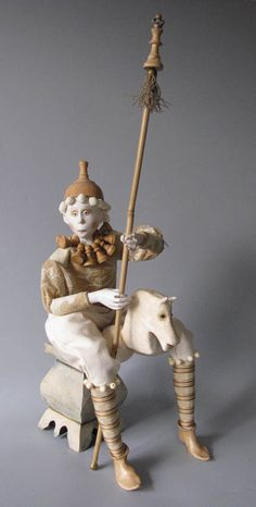 Marlaine Verhelst  White Chess Prince........makes me think of through the looking glass