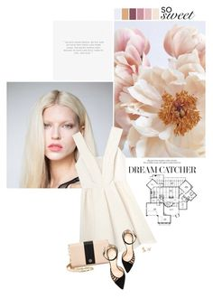 """""""dream"""" by somatramoroi ❤ liked on Polyvore featuring Rebecca Taylor, Tory Burch, Chloe Gosselin, women's clothing, women, female, woman, misses and juniors"""