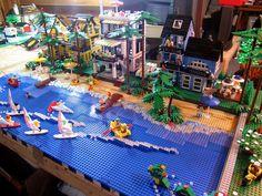 lego beach | LEGO Beach Houses