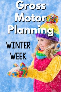 Winter Gross Motor Planning - Winter gross motor activities that are perfect for a winter themed week. Perfect for preschool gross motor programming, physical education, physical therapists, occupational therapists, and speech therapists. Winter Activities For Toddlers, Gym Games For Kids, Fine Motor Activities For Kids, Yoga For Kids, Infant Activities, Preschool Activities, Preschool Winter, Movement Activities, Pediatric Physical Therapy