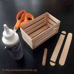 mini-kratjes maken
