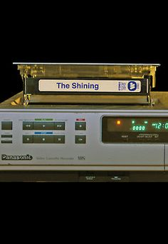 Seems like yesterday -.......note add; Shining VHS tape; Room 237 documentary related image