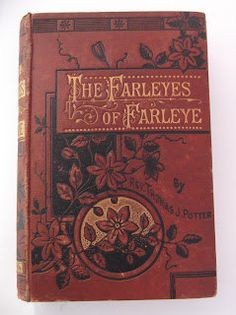 Vintage Victorian Book  The Farleyes of by Wildthymevintage, £5.00