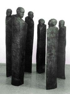 Jems Robert Koko Bi; for outside art, maybe with words engraved vertical