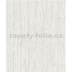 Vliesové tapety na zeď Facade dřevěná prkna světle bílo-šedé Design