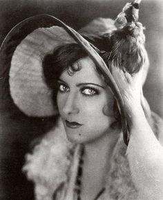 """""""I can say anything I want with my eyes"""" Gloria Swanson"""