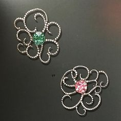 JAR diamond earrings